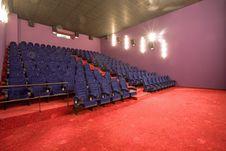 Free Empty Cinema Auditorium Stock Photography - 3396212