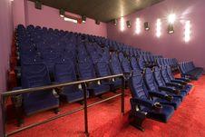 Free Empty Cinema Auditorium Royalty Free Stock Photo - 3396225