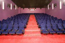 Free Empty Cinema Auditorium Royalty Free Stock Photography - 3396237