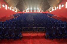 Free Empty Cinema Auditorium Royalty Free Stock Photo - 3396265