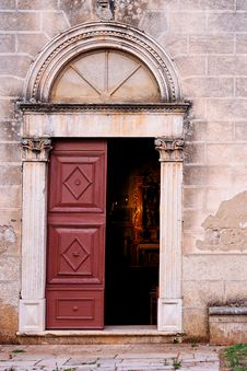 Free Church Door Stock Image - 3396781