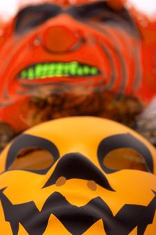 Free Scary Mask Stock Image - 3397451