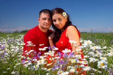 Free Young Happy Couple Stock Image - 3398351