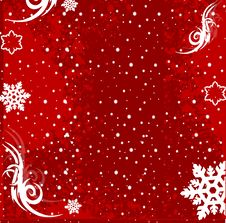 Free Christmas Winter Vector Backgr Stock Photography - 3398732