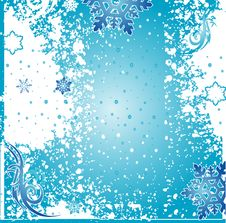 Free Christmas Winter Vector Backgr Stock Photography - 3398772