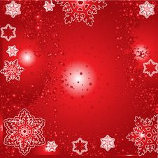 Free Christmas Winter Vector Royalty Free Stock Photo - 3398775