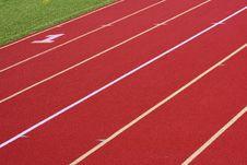 Free Running Track Stock Image - 3398841