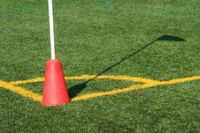 Free Soccer Corner Marker Flag Royalty Free Stock Image - 3398866