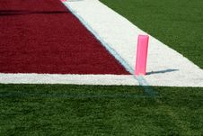 Free Football End Zone Stock Photography - 3398872
