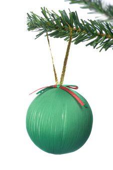 Christmas Ball Hanging Stock Images
