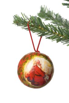 Free Christmas Ball Hanging Royalty Free Stock Images - 3399429