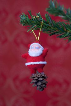 Christmas Object Hanging Royalty Free Stock Image