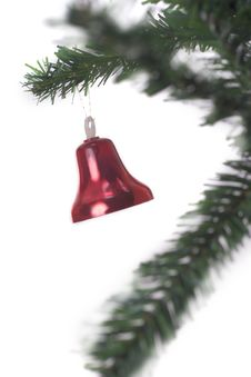 Free Christmas Bell Hanging Stock Photo - 3399610
