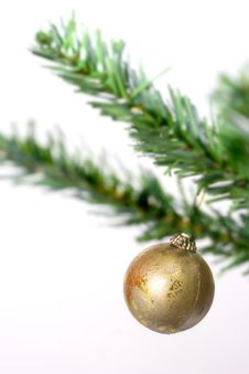 Free Christmas Ball Hanging Stock Photo - 3399710