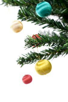 Free Christmas Balls Hanging Stock Images - 3399714