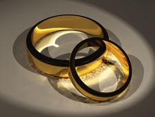 Free Two Rings Stock Image - 3399801