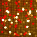 Free Red Golden Glowing Background. Christmas Card. Stock Photography - 33906132