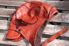 Free Brown Leather Cap Stock Images - 33902864