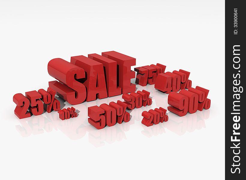 Sale discount set