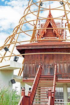 Old Thai House Royalty Free Stock Photo