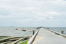 Old Jetty Royalty Free Stock Photography