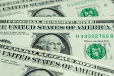 Free Banknotes In One American Dollar Stock Photography - 33917442