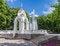 Free Mirror Stream Fountain In Kharkov Stock Images - 33913244