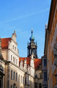 Free Dresden Street Tower View, Germany Stock Photography - 33921152
