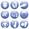 Free Cosmetic Icon Set Stock Photos - 33940203