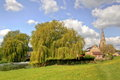 Free Olney Church And Mill Race Stock Image - 33941951