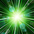 Free Abstract Green Stripes Burst Background Stock Photography - 33947612