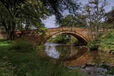 Lealholm  The Bridge North Yorkshire Royalty Free Stock Photography