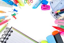 Free School Stationery Stock Images - 33949054