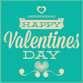 Free Greeting Card For Valentines Day. Blue Background Royalty Free Stock Photos - 33959618