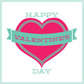 Free Greeting Card For Valentines Day. Minimalism Royalty Free Stock Photography - 33959627
