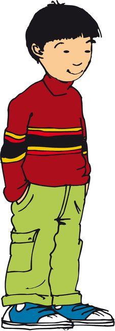 Free Pre Teen Boy Stock Image - 33954011