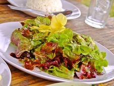 Free Thai Northen Mixed Salad Royalty Free Stock Photos - 33956398