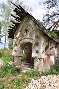 Free Small House Of The Priest Stock Images - 33959034