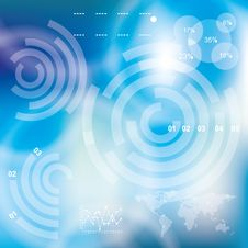 Free Modern Virtual Technology Background Stock Photos - 33959553