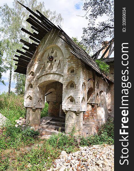 Small house of the priest