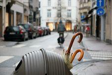 Free Belgium Umbrelas Stock Photography - 33960142