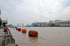 The Thames Royalty Free Stock Photo