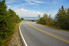 Free Maine Roadway Stock Photography - 33968452