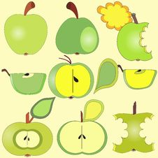 Free Apples Collection Stock Photography - 33969982