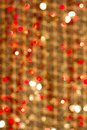 Free Red Golden Glowing Background. Christmas Card. Stock Photography - 33973312