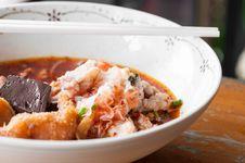 Free Thai Dish Of Yentafo Stock Photos - 33970613