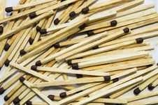Free A Lot Of Matches Royalty Free Stock Photo - 33971025
