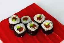 Free Maki Sushi Royalty Free Stock Photography - 33973747
