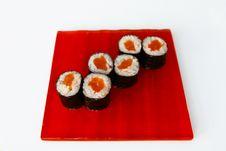 Free Maki Sushi Stock Images - 33973884