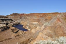 Free Mining Open Pit Mine Stock Photos - 33979253